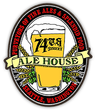 74th Street Ale House Logo